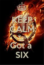KEEP CALM You Got a  SIX