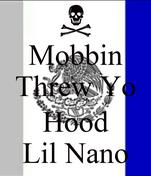 Mobbin Threw Yo  Hood Lil Nano