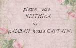 please  vote         KRITHIKA             as