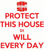 PROTECT THIS HOUSE D1 WILL EVERY DAY