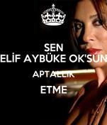 SEN ELİF AYBÜKE OK'SUN APTALLIK ETME