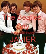 The Beatles  Say Happy Birthday  JAVIER