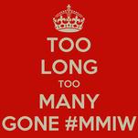 TOO LONG TOO MANY GONE #MMIW