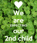 We are EXPECTING our 2nd child