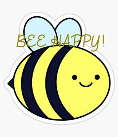 Poster: BEE HAPPY!