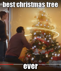 Poster: best christmas tree                 ever