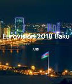 Poster: Eurovision 2018 Baku  AND
