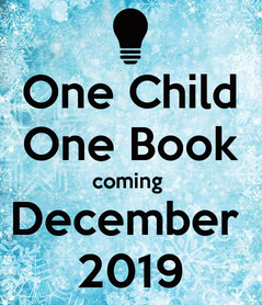 Poster: One Child One Book coming  December  2019
