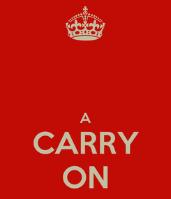 Poster:   A CARRY ON