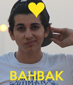 Poster:     BAHBAK