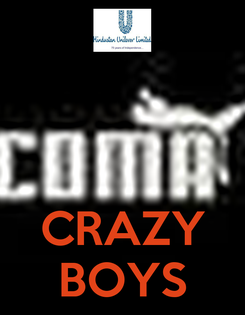 Poster:    CRAZY BOYS
