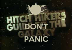 Poster:  DON'T  PANIC