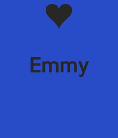 Poster:  Emmy