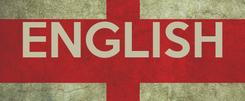 Poster:  ENGLISH