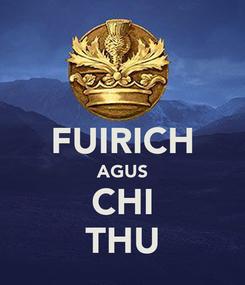 Poster:  FUIRICH AGUS CHI THU