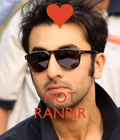 Poster:    HOT RANBIR