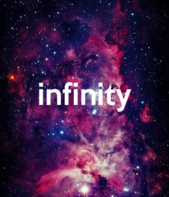 Poster:  infinity