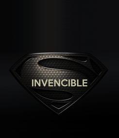 Poster:   INVENCIBLE