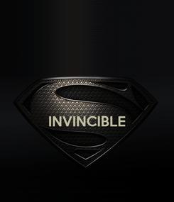 Poster:   INVINCIBLE