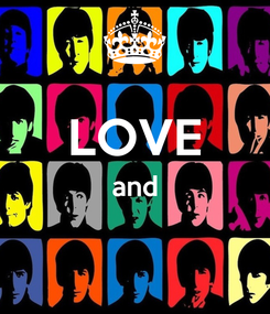 Poster:  LOVE and