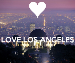 Poster:   LOVE LOS ANGELES