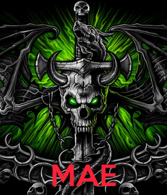 Poster:     MAE