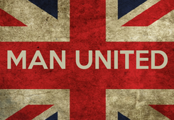 Poster:  MAN UNITED