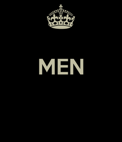 Poster:  MEN