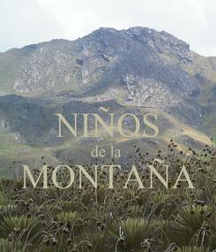 Poster:  NIÑOS de la  MONTAÑA