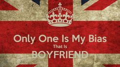 Poster:  Only One Is My Bias That Is BOYFRIEND