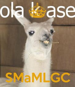 Poster:     SMaMLGC