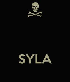 Poster:    SYLA