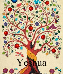Poster:     Yeshua
