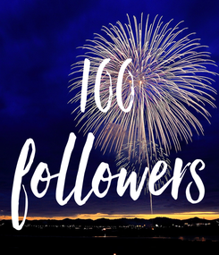 Poster: 100 followers