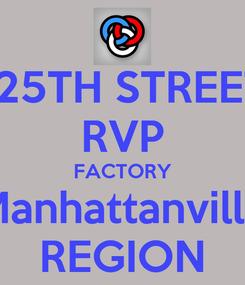 Poster: 125TH STREET RVP FACTORY Manhattanville REGION