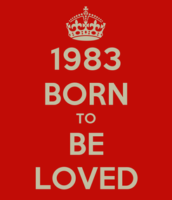 Poster: 1983 BORN TO BE LOVED