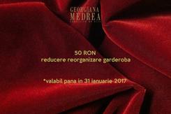 Poster: 50 RON reducere reorganizare garderoba   *valabil pana in 31 ianuarie 2017