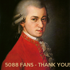 Poster:   5088 FANS - THANK YOU!