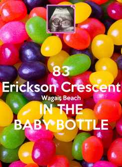Poster: 83 Erickson Crescent Wagait Beach IN THE BABY BOTTLE