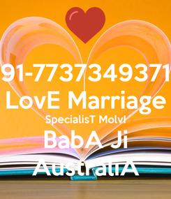 Poster: 91-7737349371 LovE Marriage SpecialisT MolvI BabA Ji AustraliA