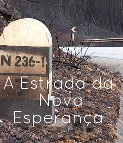 Poster:    A Estrada da  Nova  Esperança