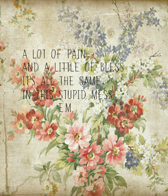 Poster: A lot of pain