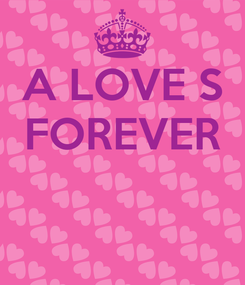 Poster: A LOVE S FOREVER