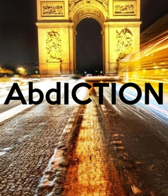 Poster:  AbdICTION