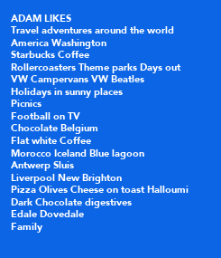 Poster: ADAM LIKES 