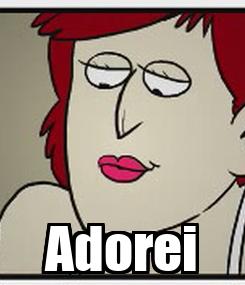 Poster:  Adorei