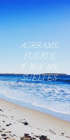 Poster: AGÁRRAME FUERTE Y NO ME SUELTES
