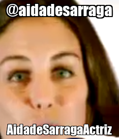Poster: @aidadesarraga AidadeSarragaActriz