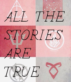 Poster: ALL THE  STORIES ARE  TRUE