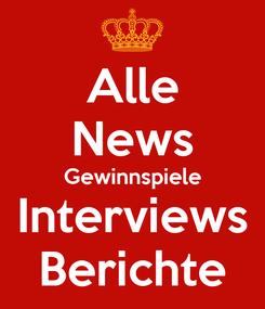 Poster: Alle News Gewinnspiele Interviews Berichte